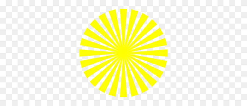 Yellow Sun Rays Clip Art - Yellow Sun Clipart