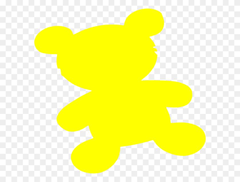 Yellow Teddy Bear Clip Art - Teddy Bear Clipart Images