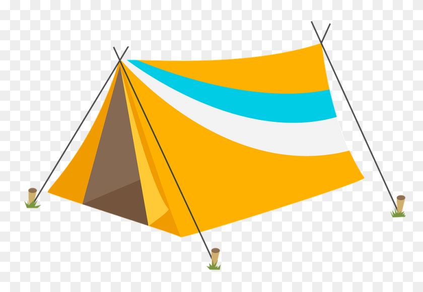 Yellow Tent Png Image - Yellow Line PNG