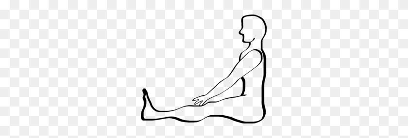 Yoga Stick Figure Clipart - Stick Figure Clip Art Black And White