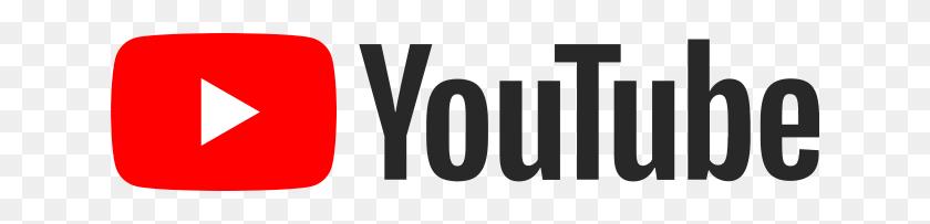 640x143 Youtube Logo - Logo Youtube PNG