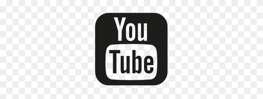 Youtube Vector Logo - Youtube Logo White PNG – Stunning free