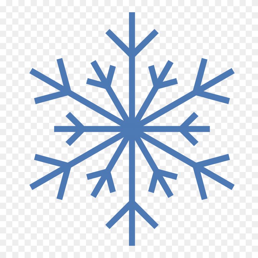 Zima Icon - Snowflake Vector PNG