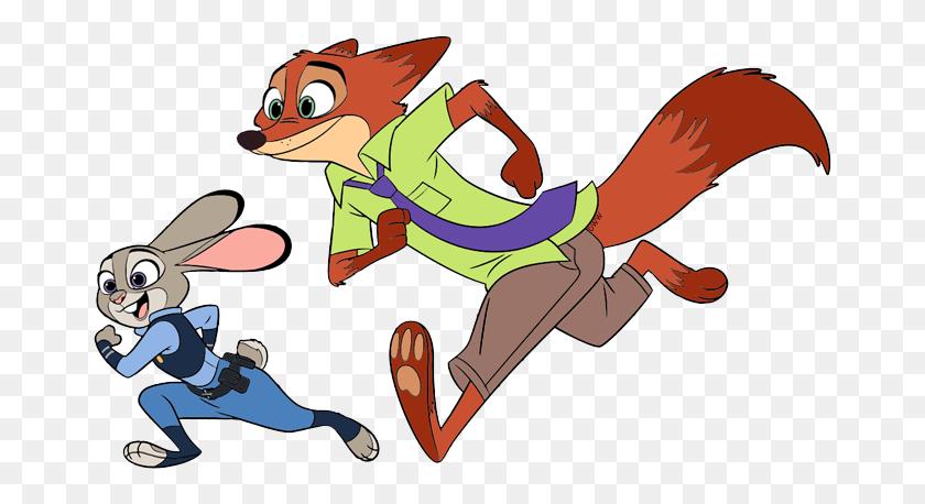 Zootopia Clip Art Disney Clip Art Galore - Running Cat Clipart