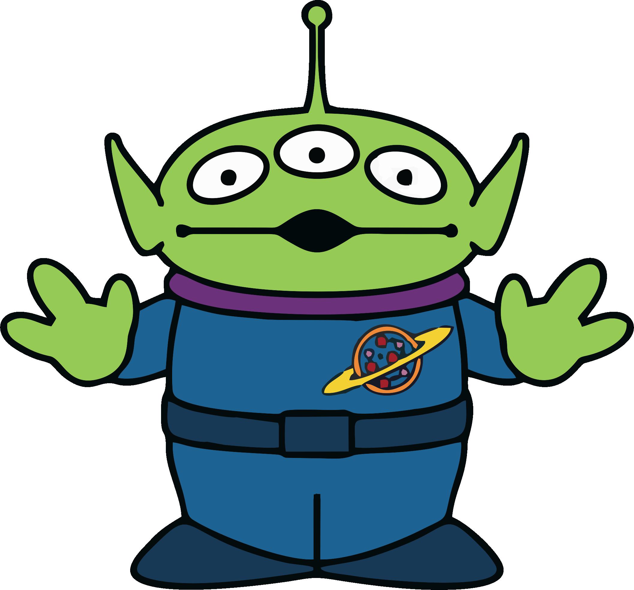 2114x1966 Alien Toy Story