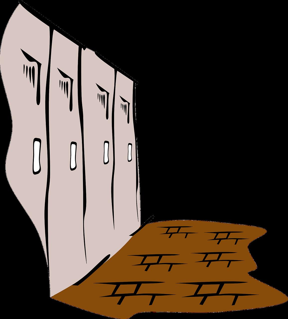 1156x1280 Cliparts Long Hallway