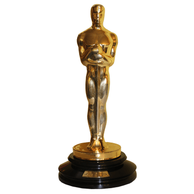 400x400 Oscar Statue Png