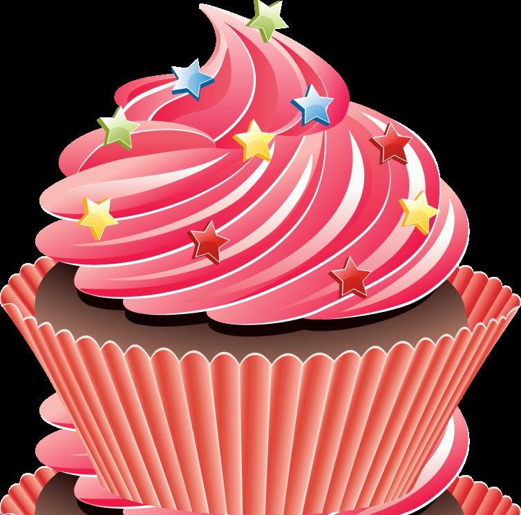 754x746 Pink Cupcake