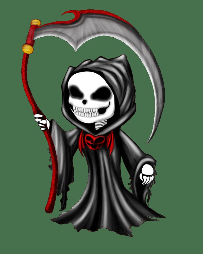 800x1000 Santa Muerte Death Saint